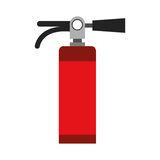 Fire extinguisher icon. Simple flat design fire extinguisher icon  illustration Stock Photo