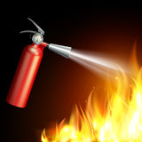 Fire Extinguisher Illustration Royalty Free Stock Image