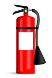 Fire extinguisher. Illustration on white background Royalty Free Stock Photo