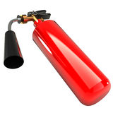 Fire extinguisher (isolated) 3d Royalty Free Stock Photo