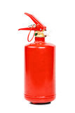 Fire extinguisher isolated Royalty Free Stock Image