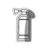 Fire extinguisher isolated. Icon  illustration graphic design Stock Photography