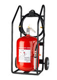 Fire Extinguisher Isolated On White Royalty Free Stock Photos