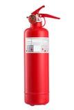Fire extinguisher isolated on white Stock Image