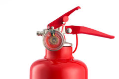 Fire extinguisher isolated on white Royalty Free Stock Photography