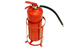 Fire extinguisher, isolated Royalty Free Stock Photos