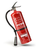 Fire extinguisher isolated on white background. 3d illustration Royalty Free Stock Photos
