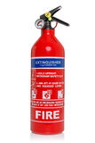 Fire extinguisher isolated on white with clipping path Stock Image