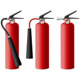 Fire Extinguisher. Layered vector illustration of Fire Extinguisher Stock Image