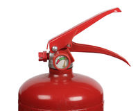 Fire extinguisher with manometer Stock Photography
