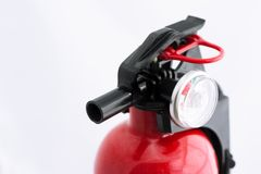 Fire extinguisher part Stock Image