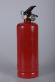 Fire Extinguisher. Red fire extinguishers used to fight the fire burning smoke, extinguish fires Royalty Free Stock Photography