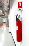 Fire extinguisher Stock Photography
