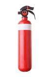 Fire extinguisher. Red fire extinguisher isolated on white background Stock Image