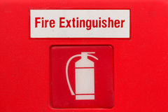 Fire extinguisher sign (fire extinguisher symbol). Fire extinguisher sign (fire extinguisher symbol, label stock images
