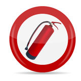 Fire Extinguisher Sign Vector Illustration. Isolated. EPS10 Royalty Free Stock Photography