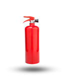 Fire extinguisher tank isolated white background Royalty Free Stock Photos