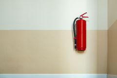 Fire extinguisher tools, Fire proof system, Fire extinguisher eq Royalty Free Stock Image