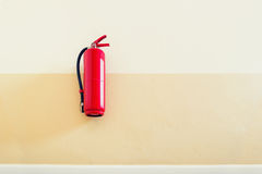 Fire extinguisher tools, Fire proof system, Fire extinguisher eq Royalty Free Stock Photos