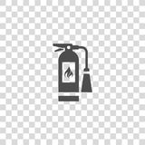 Fire extinguisher vector icon. Color illustration fire extinguisher vector icon Royalty Free Stock Photography
