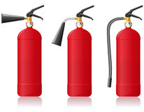 Fire extinguisher vector illustration Stock Images