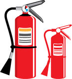 Fire extinguisher Vector Royalty Free Stock Photos