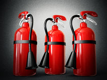Fire extinguisher. On a white background Royalty Free Stock Image