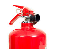 Fire extinguisher. On white background Royalty Free Stock Images