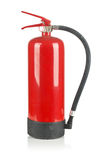Fire extinguisher on white Stock Photo
