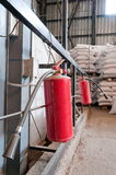 Fire extinguishers. Royalty Free Stock Images
