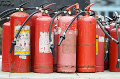 Fire Extinguishers Royalty Free Stock Photo