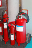 Fire extinguishers Stock Photos