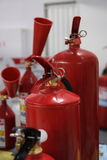 Fire extinguishers. Stock Images