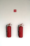 Fire extinguishers Stock Photography