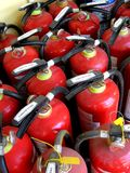 Fire extinguishers Royalty Free Stock Photography