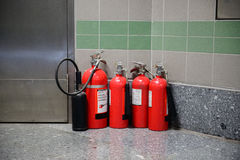 Fire extinguishers Stock Image