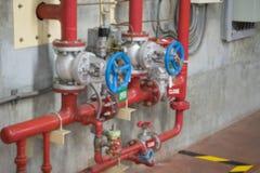 fire extinguishing system Stock Photography