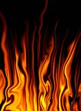 Fire fantasy. Abstraction background. Fire fantasy. Illustration Stock Photos