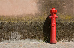 Fire faucet Stock Photography