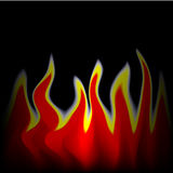 Fire - fiery background Royalty Free Stock Images