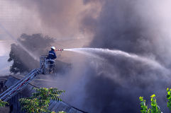 Fire fighter Stock Image