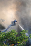 Fire fighter Royalty Free Stock Image