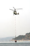 Fire Fighter Helicopter Kamov ka-32 Royalty Free Stock Photos