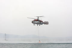 Fire Fighter Helicopter Kamov ka-32 Stock Images