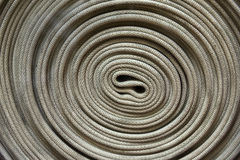 Fire fighter hose Stock Image