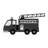 Fire fighter truck icon Stock Image