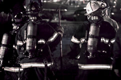 Free Fire Fighters Royalty Free Stock Photography - 49004187