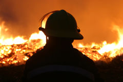 Free Fire Fighters Royalty Free Stock Image - 94760486