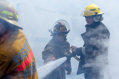 Fire fighters Royalty Free Stock Photo