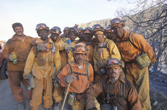 Fire fighters taking a break, Los Angeles Padres National Forest, California Royalty Free Stock Photography